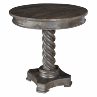 Nautical Rope Twist Accent Table