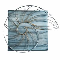 Nautilus Waves Wall Art