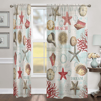 Nautique Dream Sheer Window Panel