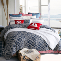 Naval Knots 4 Piece Bed Set - Super Queen