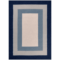 Navy Boardwalk Bay Indoor/Outdoor Rug Collection