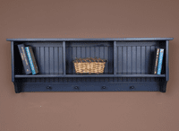 Navy Cubby Wall Shelf  - OUT OF STOCK