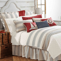 Navy Stripes Bedding Collection