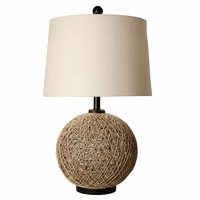 Negril Rattan Table Lamp