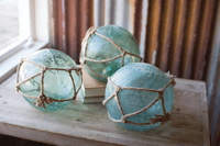 Netted Glass Orbs
