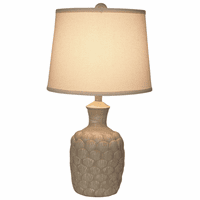 Neutral Shells Accent Lamp