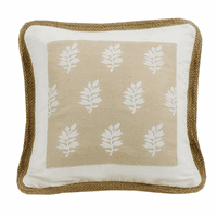 Newport Framed Pillow with Trim