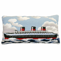 Normandie Needlepoint Pillow