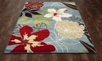 Oahu Flower Rug Collection