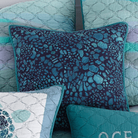 Ocean Blue Ocean Pillow