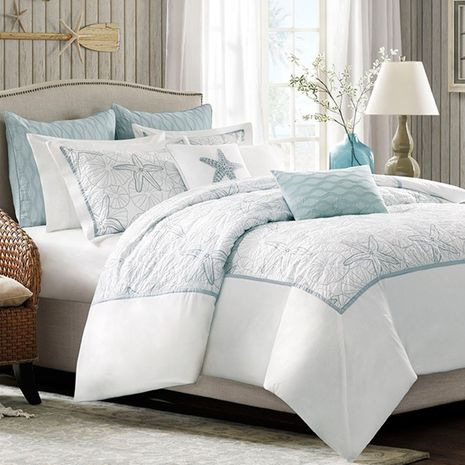 Ocean Breeze Duvet Cover Set  - Full/Queen