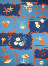 Ocean Coral Rug Collection