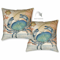 Ocean Crab Pillow
