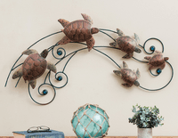 Ocean Current Turtles Wall Hanging