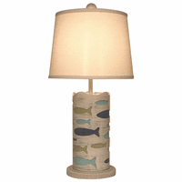 Ocean Cutout School of Fish Accent Lamp