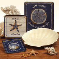Ocean Escape Melamine Dinnerware Collection
