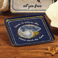 Ocean Escape Salad Plate - Set of 6 - CLEARANCE