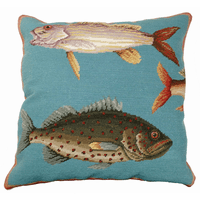 Ocean Fish I Pillow
