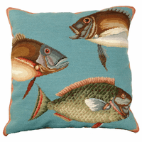 Ocean Fish II Pillow
