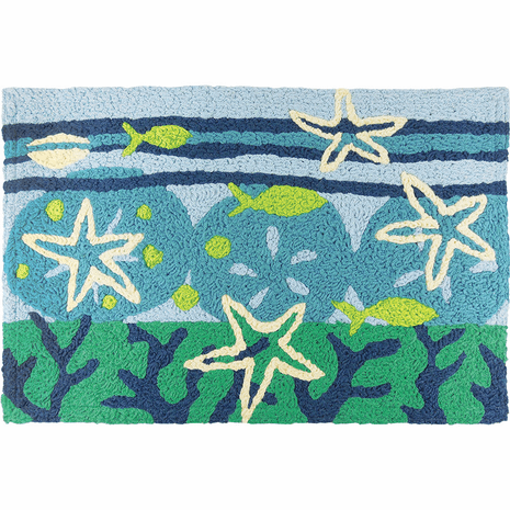 Ocean Floor Indoor/Outdoor Rug - 2 x 3
