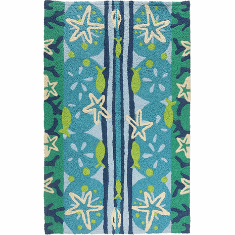 Ocean Floor Indoor/Outdoor Rug - 5 x 7