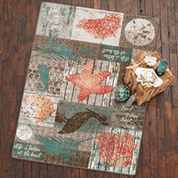 Ocean Icons Rug Collection