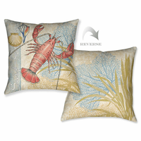 Ocean Lobster Pillow