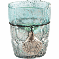 Ocean Medallion Shell Candle Holder