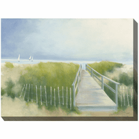 Ocean Path Outdoor Canvas Art