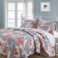 Tubbataha Reef 2pc Quilt Set - Twin - CLEARANCE