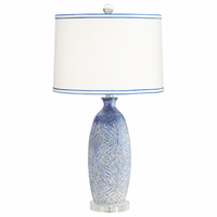 Ocean Currents Table Lamp