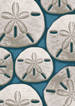 Ocean Treasure Area Rug - Aqua