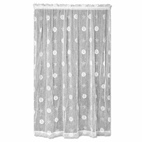 Ocean Treasure Lace Window Panel - 45 x 84 - OVERSTOCK