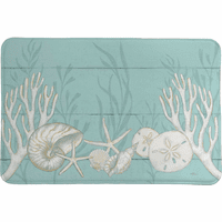 Ocean Treasures Memory Foam Rug