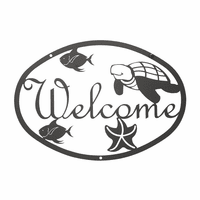 Ocean Welcome Sign