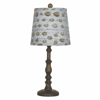 Ocean Words Table Lamp