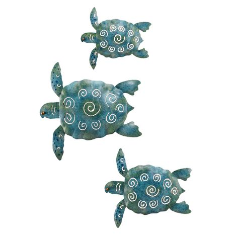 Oceana Sea Turtles Wall Art - Set of 3