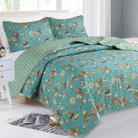 Oceana Shells Quilt Bedding Collection