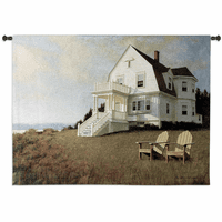 Oceanfront View Wall Tapestry