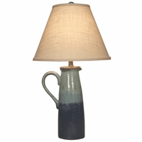 Oceanside Handled Pitcher Table Lamp