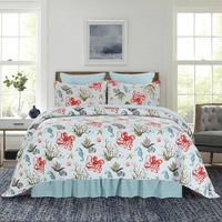 Octopus Adventure Quilt Set - King