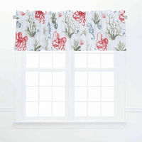 Octopus Adventure Valances - Set of 2