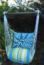 Octopus Beach Boulevard Stripe Swing Set
