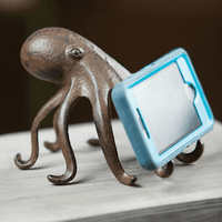 Octopus Cast Iron Phone Stand
