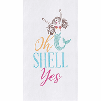 Oh Mermaid Flour Sack Towels - Set of 6