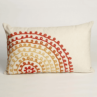 Ombre Threads Warm Pillow - 12 x 20