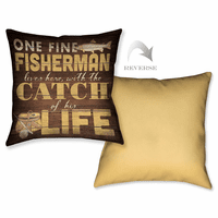 One Fine Fisherman Pillow