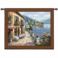 Overlook Cafe I Wall Tapestry