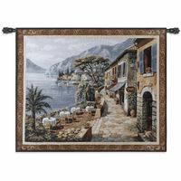 Overlook Cafe II Wall Tapestry