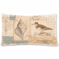 Overseas Post Card Pillow